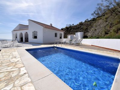 Photo for Beautiful Holiday Home in Cútar with Swimming Pool