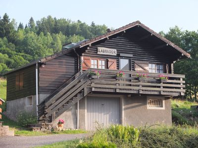 Photo for Ideal for 4 Chalet in Vosges, equipped and quiet, close to amenities