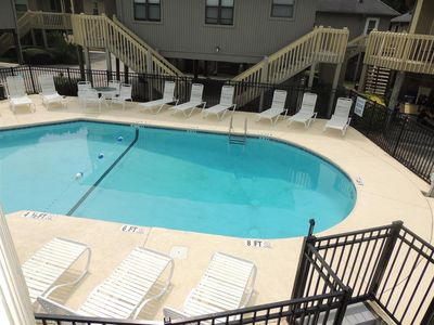 Photo for Right Beside Pool- Perfect Beach Getaway, Guest Cottage #G14  Myrtle Beach SC
