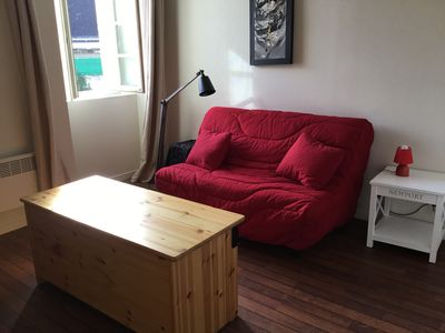 Photo for Charming studio, in the heart of Vannes, calm and comfort