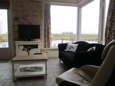 Photo for New !! House, with great views over water and farmland, 10 min to Amsterdam