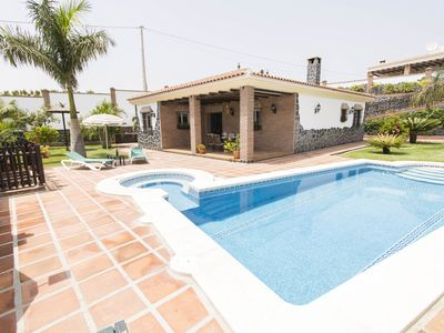 Photo for Nerja: VILLA WITH JACUZZIS AND PRIVATE POOL