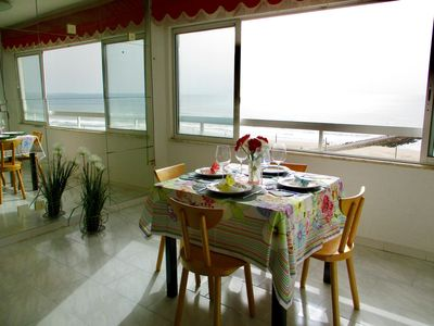 Photo for Apartment stunning sea view and Lisbon
