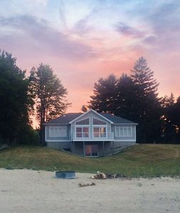 Photo for PRIVATE LAKE PROPERTY - soft sand and relaxation - The Sunrise Lake House