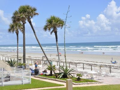 Photo for Just Steps away from the Pool & Ocean in New Smyrna Beach