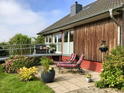 Photo for Family accommodation for animal lovers with garden, terrace and WiFi