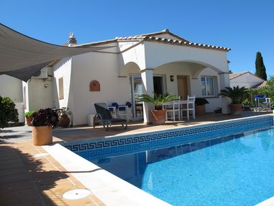 Photo for L'Escala: house with private garden, pool, & free Wi-Fi