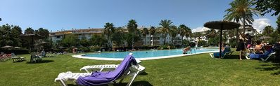 Photo for PENTHOUSE IN PUERTO BANUS, MARBELLA, GOLF, Wi-Fi