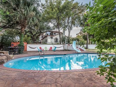 Photo for Casa Cozumel Estate with pool & optional guesthouse -- 5 miles from downtown SA