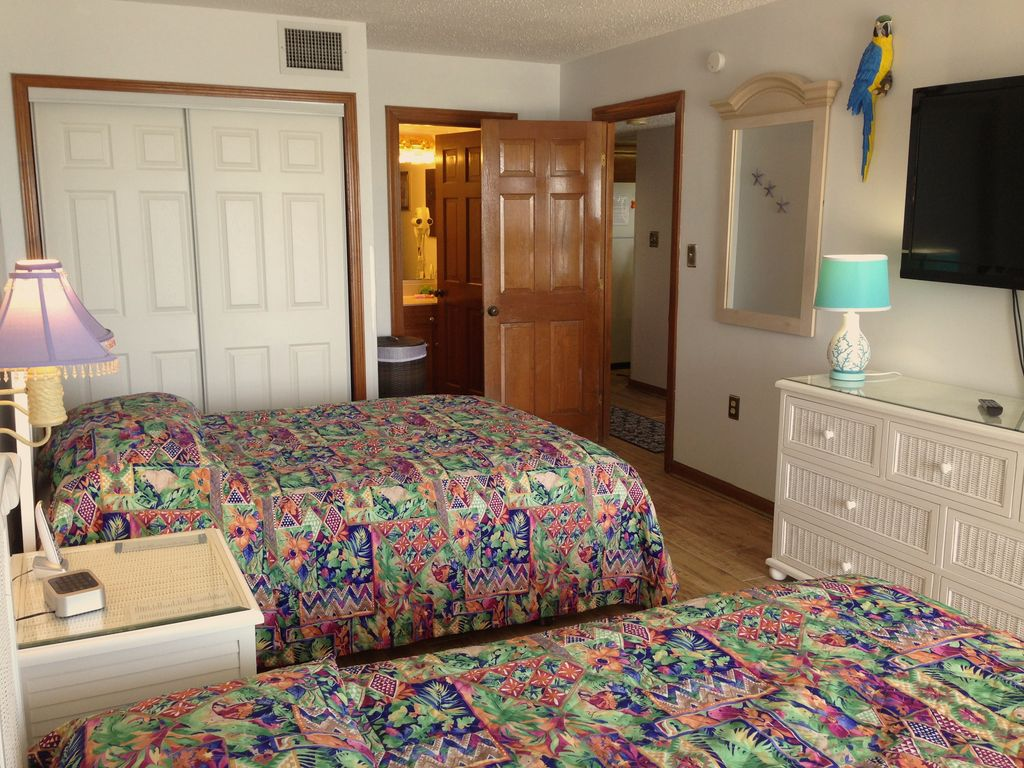 Wake Up With A Wonderful View In Our 2 Bedroom Oceanfront Condo In Myrtle Bea
