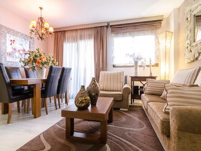 Photo for Superb modern apartment downtown at 50 meters to the best beach