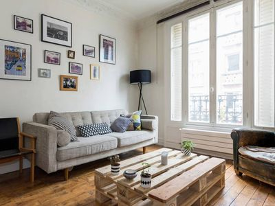 Photo for Beautiful And Bright 1 Bedroom Parisian Apartment