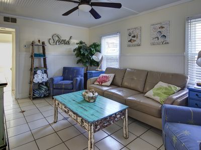 DownStairs with Great back yard for kiddos