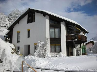 Photo for Scuol Apartment, Sleeps 2 with WiFi