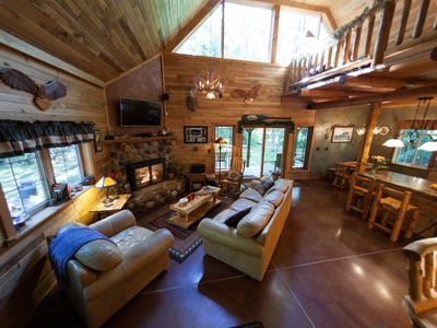 Gorgeous Cabin Nestled on the Lake - Check out our new video!