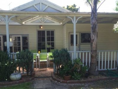 Photo for RELAX IN COOL CALIFORNIAN BUNGALOW CLOSE TO CAFES, BEACH, SHOPS SCHOOLS &TRANSPO