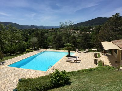 Photo for Beautiful Quiet Villa in a green setting without neighbors - 5 Minutes A7