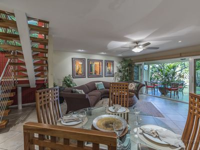 Photo for Poolside with Garden and Mountain Views!  Private, Gated Community