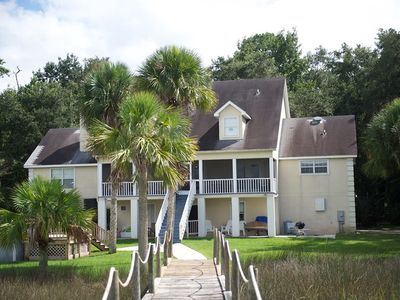 Serenity, Seclusion, Spacious for Privacy, overlooking  Tidal Creek and Marsh