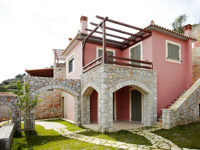 Photo for DIO GUESTHOUSES VILLA TAINARON 2 B/R WITH PRIVATE GARDEN AND SWIMMINGPOOL