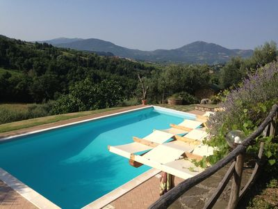 Photo for Spectacular Umbrian Villa In Natural Reserve near Montone- Complete Tranquility