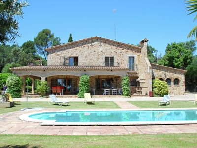 Photo for Perfectly maintained villa with a lot of privacy, private pool and huge garden
