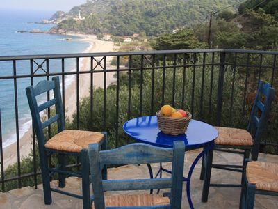 Photo for Villa Katarina in one of the most beautiful and spectacular locations on Samos ...