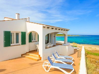 Photo for Voramar Waterfront: Walk to Beach, Sea Views, A/C, WiFi, Car Not Required