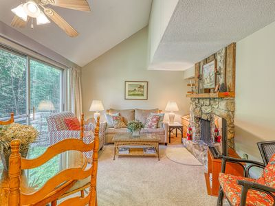 Photo for Dog friendly treetop condo w/loft and private balcony - close to ski lodge!