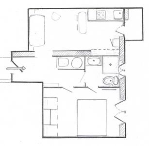 Photo for 2 rooms of 40 m2 - brand new - in the Golden Square Nice