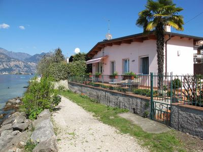 Photo for Vacation home Ferienhaus (BRZ145) in Brenzone - 4 persons, 2 bedrooms