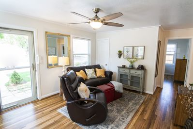 Welcoming, Bright Living Room