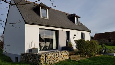 Photo for Comfortable cottage near the sea (between Montebourg and Saint-Vaast-la-Hougue)