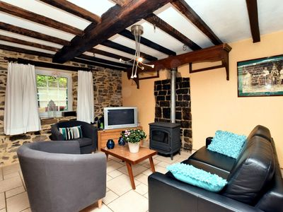 Photo for Vintage Holiday Home in Durbuy with Terrace, Garden, Parking