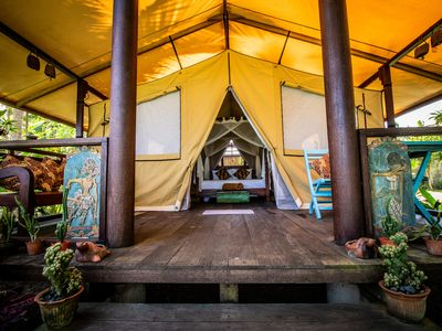 Photo for September VRBO Special $45!! - Unforgettable Beachfront Glamping in West Bali!