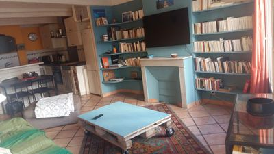 Photo for Charming T2 duplex in a village house in the heart of Ollioules
