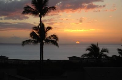 Sunsets from our Lanai