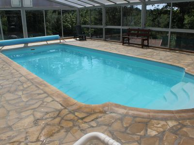 Photo for THE FRENCH-4 PEOPLE-SWIMMING POOL COVERED AND HEATED FROM 01/04 TO 30/10 - WI-FI