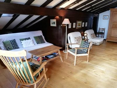 Photo for Central Location Cozy 3 BR Flat in Gstaad
