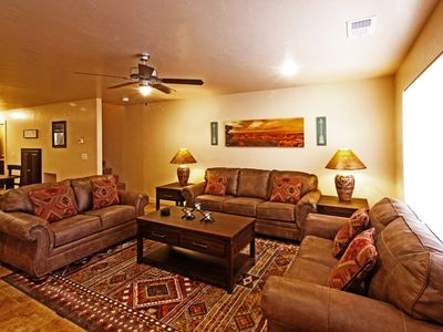 Photo for New Townhome Adjacent to Pool and Hot Tub, Family and Cyclist Friendly
