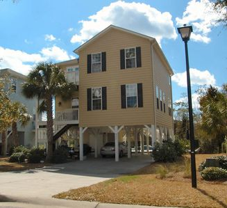 Photo for GOLF CART INCLUDED! PRIVATE POOL. SHORT STAYS AVAILABLE.  CLOSE TO BEACH.  4 bedroom 2 Bath House