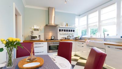 Photo for Stylish apartment packed with period features in a perfect Eastbourne location