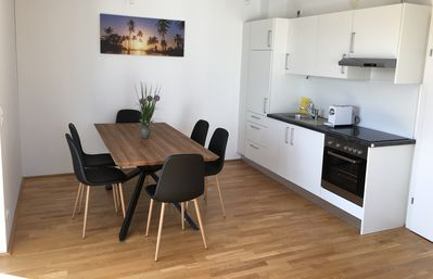 Photo for Apartment for 4 persons with 35m² south-facing balcony - fantastic castle mountain view