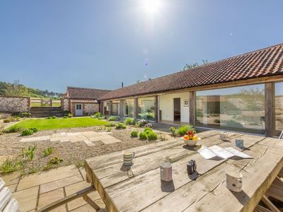 Photo for The Cart Shed is an enchanting luxury self-catering coastal barn
