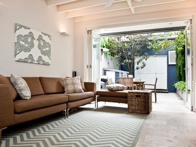 Photo for Family terrace in Moncur Woollahra - Terrace Footsteps from Woollahra Village