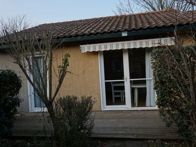 Photo for Villas du Lac 216 - Quality 2 Bed Villa on Cycling Routes SouthWest France Coast