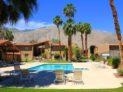 Photo for Updated 2 bed/2 bath Ground Level steps to pool and tennis courts
