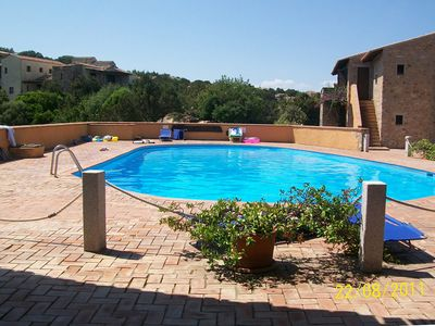 Photo for 2 minutes from the beach twoo-room apartment with swimming-pool