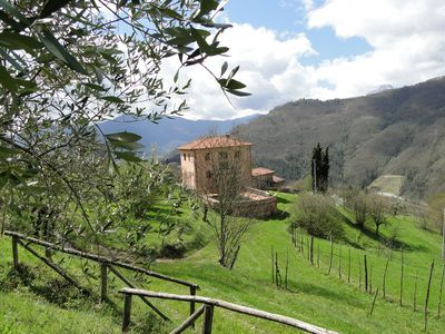 Photo for Villa, 6 bedrooms, private pool, amazing views, walk to restaurant/bar/shop WIFI