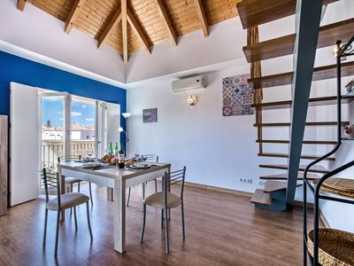 Photo for A fabulous top floor 2 bedroom town centre apartment with views across Tavira